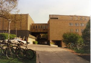 The Law Building viewed in 1963.