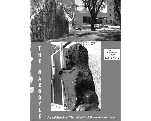 cover to the Gargoyle, Vol. 2.1